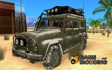 УАЗ-31519 зимний вариант из COD MW 2 для GTA San Andreas