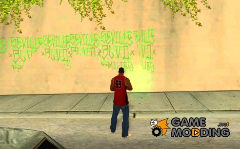 My Gang Tags for GTA San Andreas