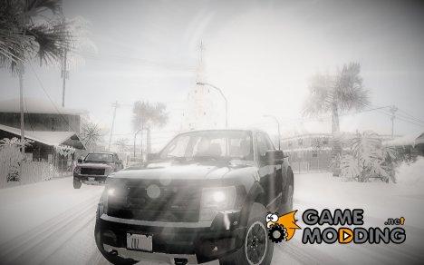 Зимний ENBSeries 2.0 for GTA San Andreas