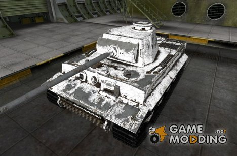 PzKpfw VI Tiger Martin_Green 2 for World of Tanks
