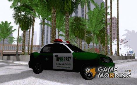 Daewoo Lanos De Carabineros De Chile для GTA San Andreas