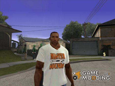 CJ в футболке (Master Sounds) for GTA San Andreas