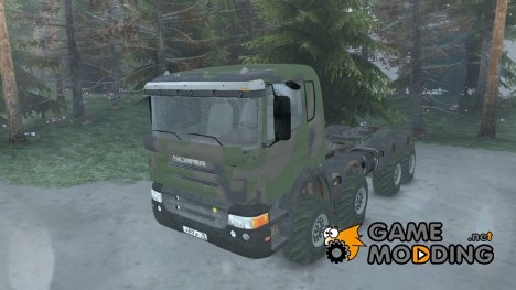 Scania 8x8 for Spintires 2014