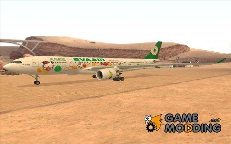 A330-202 Airbus Eva Air Hello Kitty Fruit для GTA San Andreas