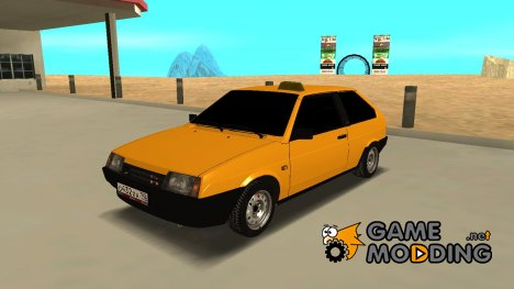 ВаЗ 2108 TAXI for GTA San Andreas
