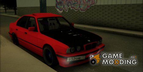 BMW 5-er E34 v2 for GTA San Andreas
