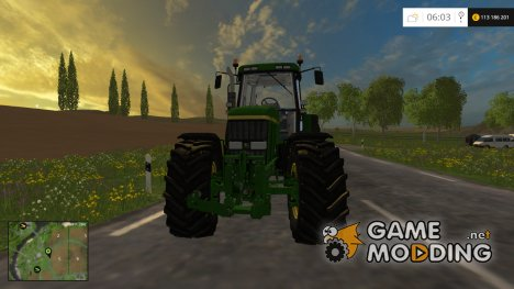 John Deere 7810 v4.1 для Farming Simulator 2015