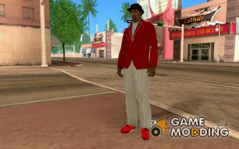 Rote Sneakers for GTA San Andreas