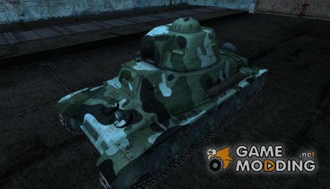 Шкурка для Hotchkiss H35 для World of Tanks