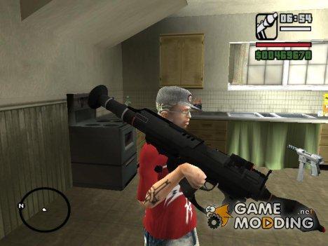 Duas Bazookas From Blacklight Retribution для GTA San Andreas