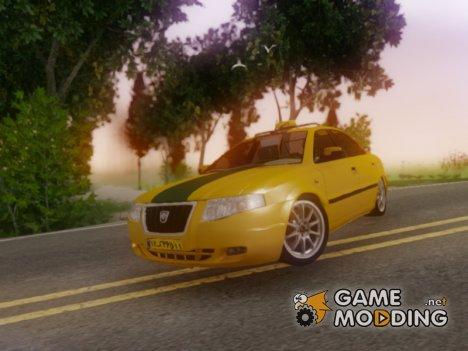 Iran Khodro Samand Taxi для GTA San Andreas