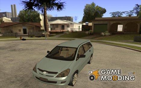 Toyota Innova for GTA San Andreas
