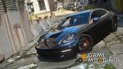 Porsche Panamera для GTA 4