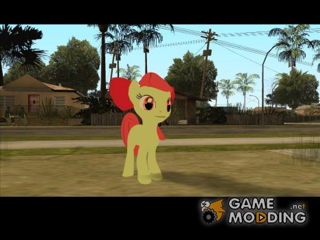 Applebloom (My Little Pony) for GTA San Andreas