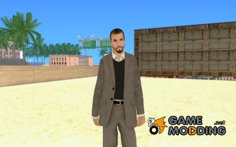 Новый HD Скин Бизнесмена для GTA San Andreas