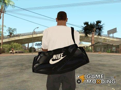 Кожаная сумка Nike для GTA San Andreas