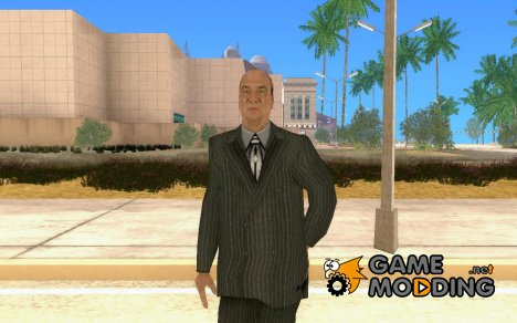 Paul Heyman SvR 2008 ps2 for GTA San Andreas