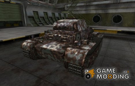 Горный камуфляж для PzKpfw II Ausf. J для World of Tanks