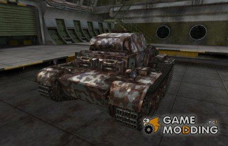 Горный камуфляж для PzKpfw II Ausf. J for World of Tanks