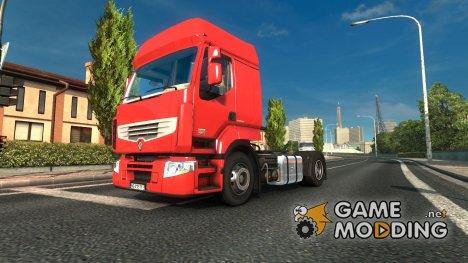 Renault Premium v 1.2 for Euro Truck Simulator 2
