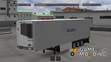 Trailer Jardel for Euro Truck Simulator 2