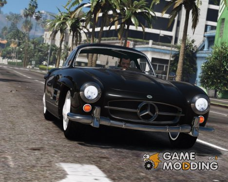 1955 Mercedes-Benz 300SL Gullwing 2.4 для GTA 5