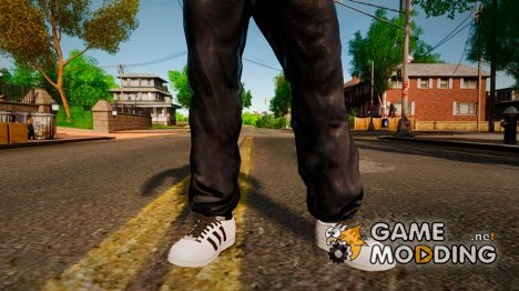 Adidas Superstar 80s для GTA 4