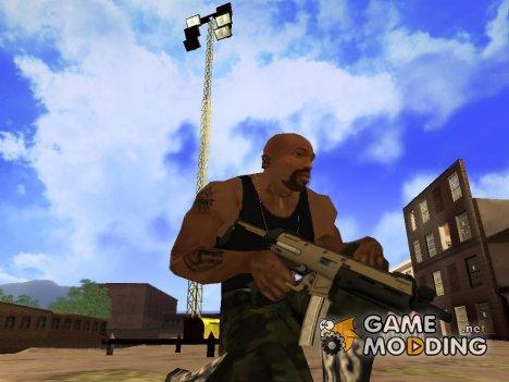 SMG (MP5) из GTA 5 для GTA San Andreas