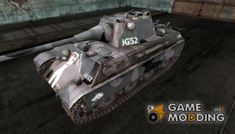 "Шкурка для Panther II ""Gertrud Barkhorn"" for World of Tanks"