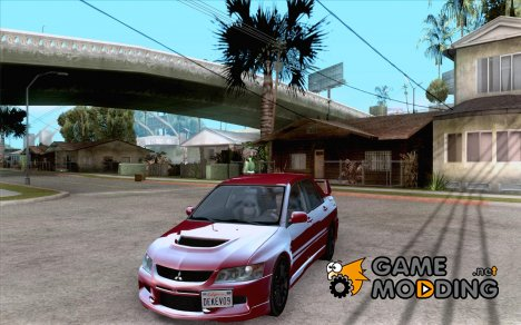 Mitsubishi Lancer Evolution IX 2006 MR v2 для GTA San Andreas