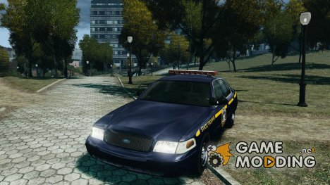Ford Crown Victoria New York State Patrol для GTA 4