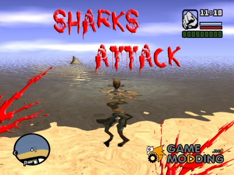 Sharks Attack for GTA San Andreas