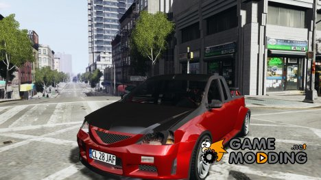 Dacia Pick-up Tuning для GTA 4