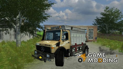 Mercedes-Benz Unimog Spezial v 2.0 for Farming Simulator 2013