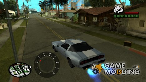 Speedometer by Khaidar для GTA San Andreas