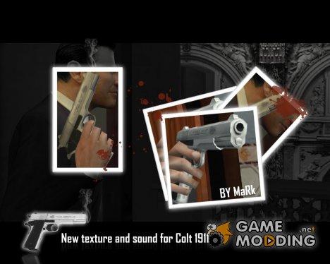 Новая текстура и звук для Colt 1911 для Mafia: The City of Lost Heaven