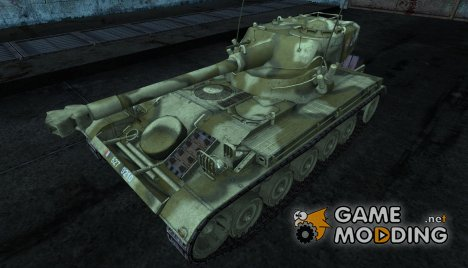 Шкурка для AMX 13 75 №7 для World of Tanks