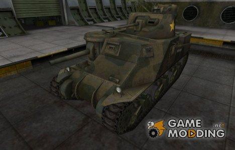 Исторический камуфляж M3 Lee для World of Tanks