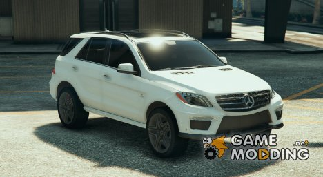 Mercedes Benz ML63 для GTA 5