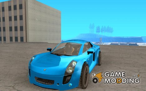 Mastretta MXT v1.1 for GTA San Andreas
