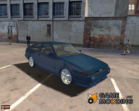 Toyota Corolla AE86 для Mafia: The City of Lost Heaven