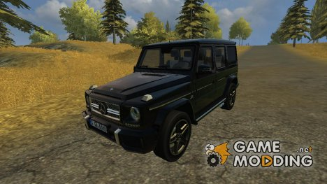Mercedes-Benz G65 AMG для Farming Simulator 2013