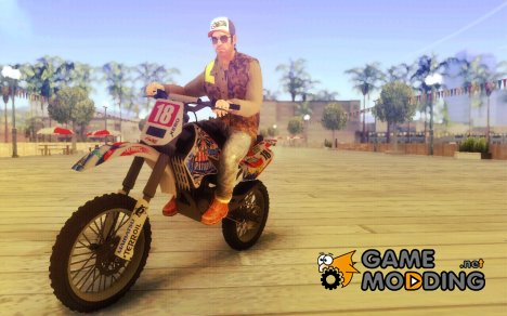 GTA V Patriot Beer Sanchez для GTA San Andreas