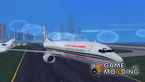 Boeing 737-8B6 Royal Air Maroc (RAM) for GTA 3