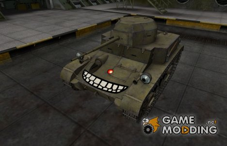 Забавный скин T2 Light Tank for World of Tanks