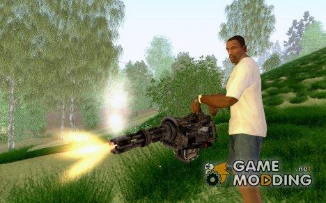 Fallout Minigun for GTA San Andreas