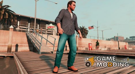 Levi's jeans for Michael v.3 for GTA 5