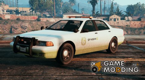 Group 6 Security Vehicle 0.1 for GTA 5