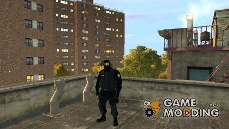 Riot Police для GTA 4