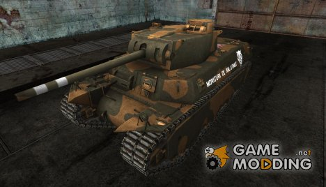 Шкурка для T1 hvy от methoz for World of Tanks